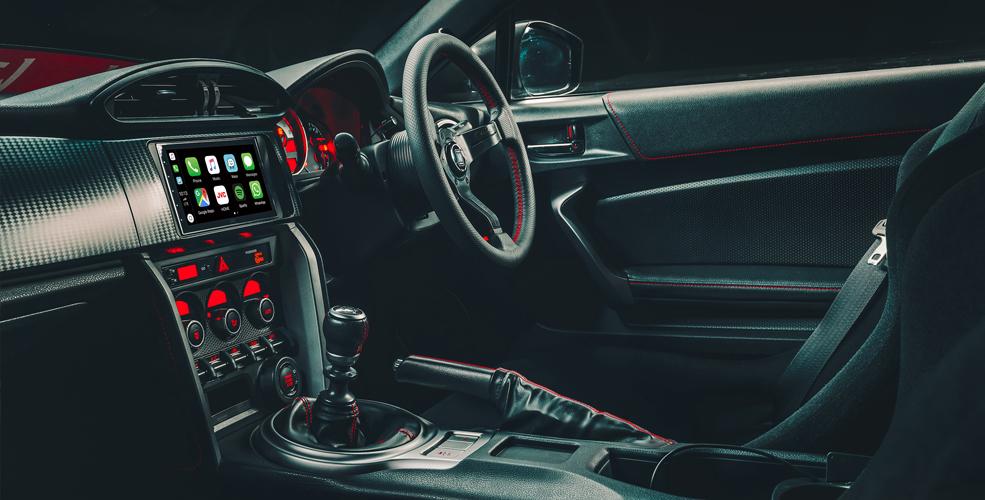 JVC Demo Car with KW-M745DBT, SP-G seats, Nardi steering wheel