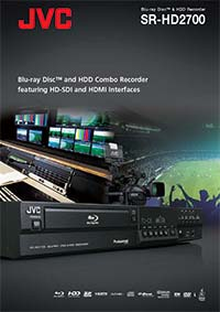 SR-HD2700 Brochure