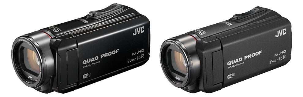 GZ-RX615 and GZ-RX610 JVC Everio R Camcorders