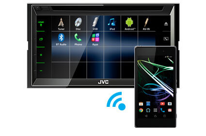 Bluetooth music streaming JVC KW-M560BT