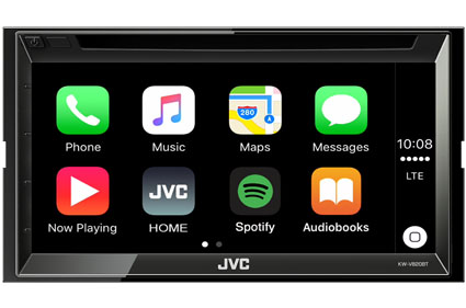 JVC CarPlay features