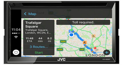 CarPlay KW-V820BT JVC Car Entertainment