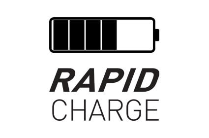 Rapid charge via USB