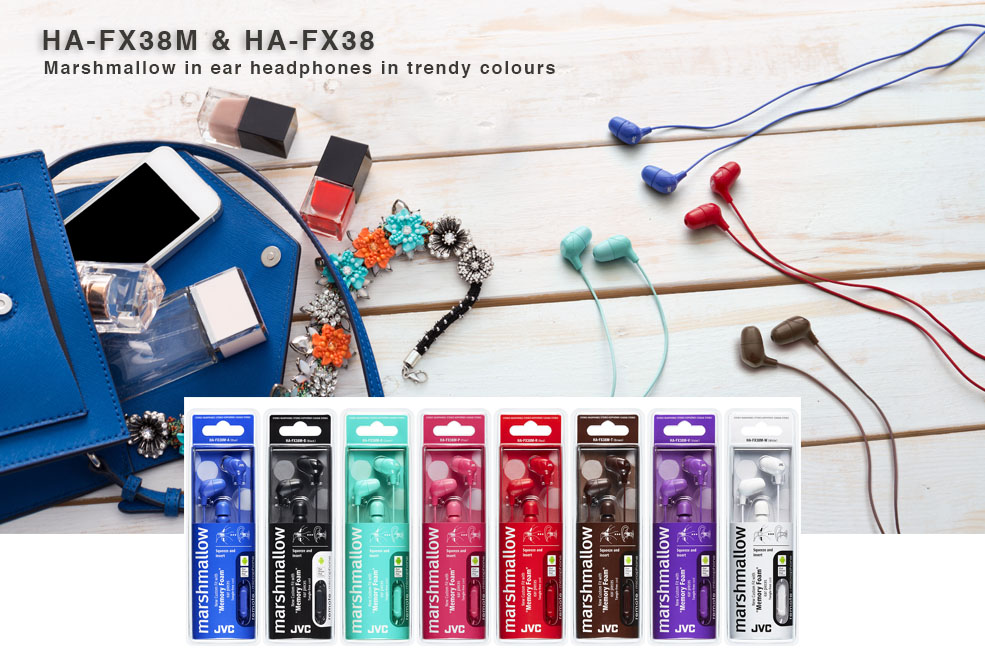 HA-FX38 Marshmellow headphones