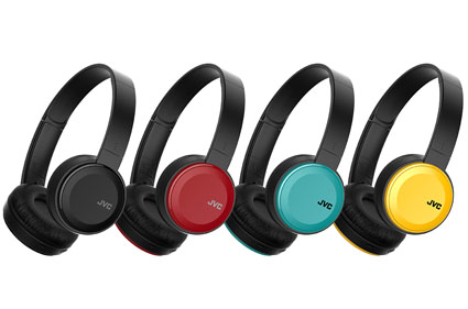 4 vivid colours HA-S30BT headphones