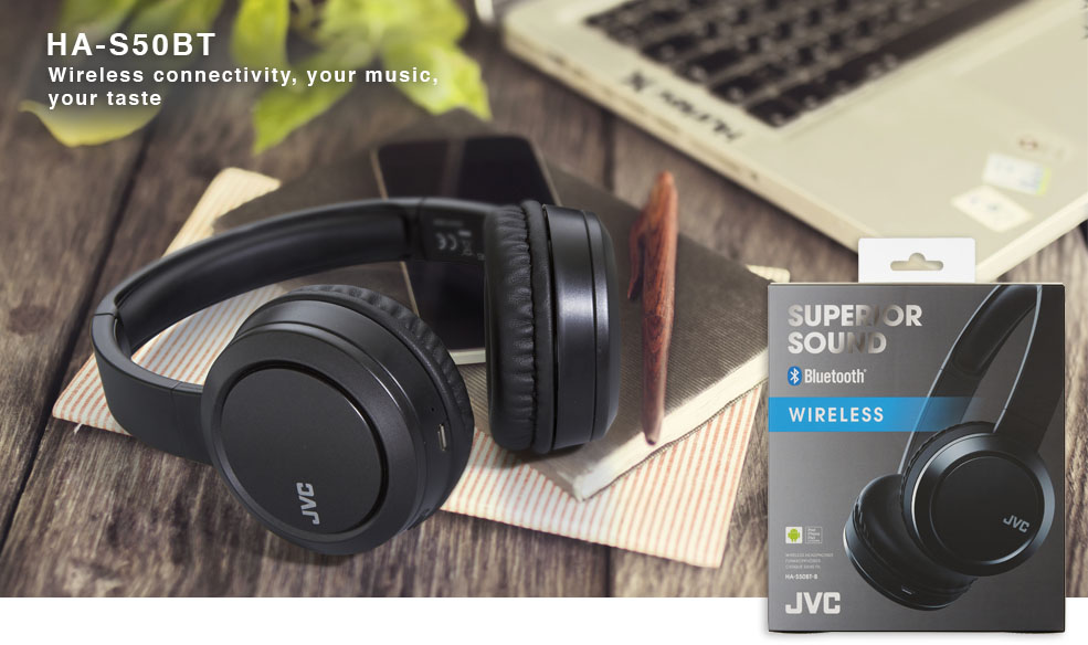 HA-S50BT JVC Wireless headphones