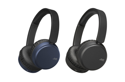 Two colour variation HA-S65BN headphones