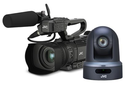 JVC Pro brochure camcorders & cameras