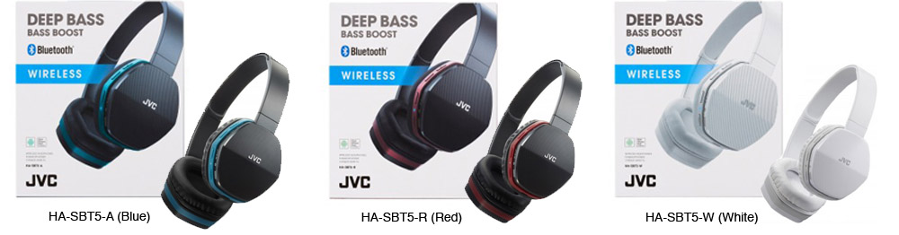 Wireless sports headphones HA-EBT5 by JVC