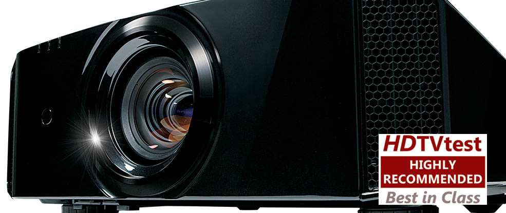 HDTVtest highly recommended award DLA-X7000 JVC projector