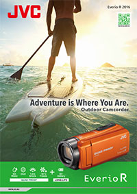 JVC camcorder Everio brochure