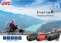 JVC camcorder Everio brochure 2018