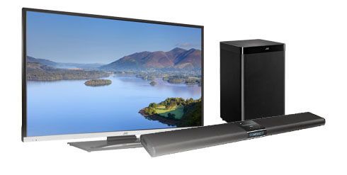 JVC TV's, sound bars, audio products purchased via Currys or PC World